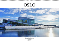 Oslo – Norwegen (Wandkalender 2019 DIN A2 quer) von Hoppe,  Franziska
