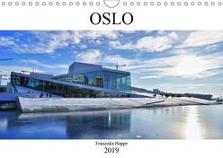 Oslo – Norwegen (Wandkalender 2019 DIN A4 quer) von Hoppe,  Franziska