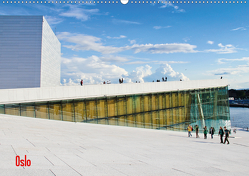 Oslo (Wandkalender 2021 DIN A2 quer) von Koch,  Andrea