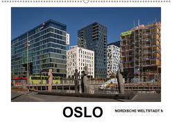 Oslo – Weltstadt mit Charme und Herz (Wandkalender 2019 DIN A2 quer) von Hallweger,  Christian