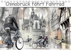 Osnabrück fährt Fahrrad (Tischkalender 2020 DIN A5 quer) von Gross,  Viktor