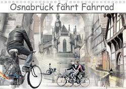 Osnabrück fährt Fahrrad (Wandkalender 2020 DIN A4 quer) von Gross,  Viktor