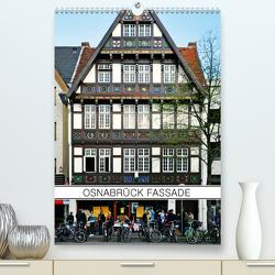 Osnabrück Fassade (Premium, hochwertiger DIN A2 Wandkalender 2021, Kunstdruck in Hochglanz) von Dietrich,  Jörg