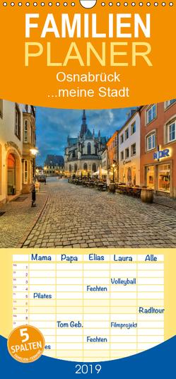 Osnabrück …meine Stadt – Familienplaner hoch (Wandkalender 2019 , 21 cm x 45 cm, hoch) von Krause,  Kurt
