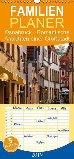 Osnabrück – Romantische Ansichten einer Großstadt – Familienplaner hoch (Wandkalender 2019 , 21 cm x 45 cm, hoch) von Krause,  Kurt