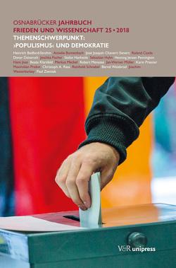 Osnabrücker Jahrbuch Frieden und Wissenschaft XXV / 2018 von Osnabrück,  Präsident der Universität, Stadt Osnabrück,  Oberbürgermeister d.