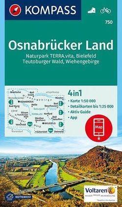 Osnabrücker Land von KOMPASS-Karten GmbH