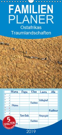 Ostafrikas Traumlandschaften. Kenia – Tansania – Sansibar – Äthiopien – Familienplaner hoch (Wandkalender 2019 , 21 cm x 45 cm, hoch) von Herzog,  Michael