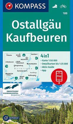 Ostallgäu, Kaufbeuren von KOMPASS-Karten GmbH