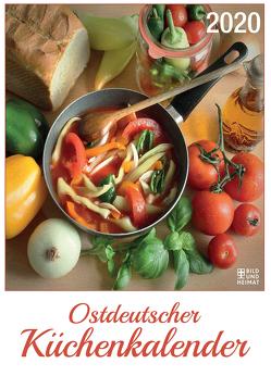 Ostdeutscher Küchenkalender 2020 von Schenke,  Frank