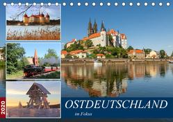 Ostdeutschland im Fokus (Tischkalender 2020 DIN A5 quer) von u.a.,  KPH