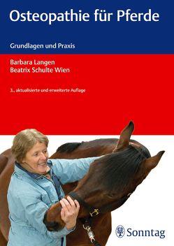 Osteopathie für Pferde von Dick,  Sabine, Keller,  Irina, Langen,  Barbara, Schulte Wien,  Beatrix, Wilbricht,  Jutta