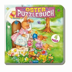 Oster-Puzzlebuch mit 4 Puzzles