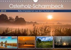 Osterholz-Scharmbeck, Natur-Impressionen aus dem Teufelsmoor (Wandkalender 2018 DIN A4 quer) von Adam,  Ulrike