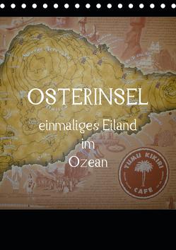 Osterinsel – einmaliges Eiland im Ozean (Tischkalender 2020 DIN A5 hoch) von Kolokythas,  Alexia