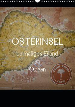 Osterinsel – einmaliges Eiland im Ozean (Wandkalender 2019 DIN A3 hoch) von Kolokythas,  Alexia