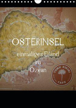 Osterinsel – einmaliges Eiland im Ozean (Wandkalender 2019 DIN A4 hoch) von Kolokythas,  Alexia