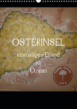 Osterinsel – einmaliges Eiland im Ozean (Wandkalender 2020 DIN A3 hoch) von Kolokythas,  Alexia