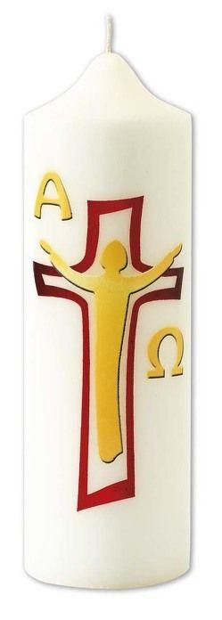 Osterkerze 'Auferstehung Christi'