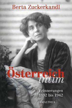 Österreich intim von Federmann,  Reinhard, Zuckerkandl,  Berta