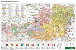 Österreich Verwaltung – A3, Planokarte 1:1.300.000 von Freytag-Berndt und Artaria KG