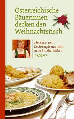 Österreichische Bäuerinnen decken den Weihnachtstisch von Löwenzahn Verlag