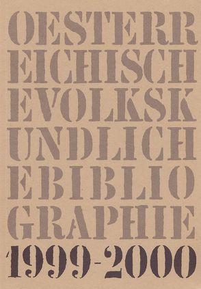 Österreichische Volkskundliche Bibliographie / Österreichische Volkskundliche Bibliographie von Beitl,  Klaus, Hummer,  Hermann