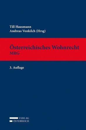 Österreichisches Wohnrecht – MRG von Hausmann,  Till, Vonkilch,  Andreas