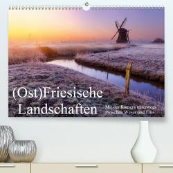 (Ost)Friesische Landschaften (Premium, hochwertiger DIN A2 Wandkalender 2021, Kunstdruck in Hochglanz) von Peters-Hein,  Reemt
