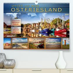 Ostfriesland – Appetit auf mehr (Premium, hochwertiger DIN A2 Wandkalender 2020, Kunstdruck in Hochglanz) von Roder,  Peter