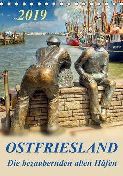 Ostfriesland – die bezaubernden alten Häfen / Planer (Tischkalender 2019 DIN A5 hoch) von Roder,  Peter