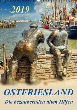 Ostfriesland – die bezaubernden alten Häfen / Planer (Wandkalender 2019 DIN A2 hoch) von Roder,  Peter