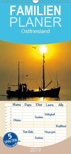 Ostfriesland – Familienplaner hoch (Wandkalender 2019 , 21 cm x 45 cm, hoch) von / Boyungs / Großmann / Steinkamp,  McPHOTO