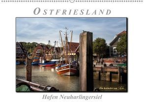 Ostfriesland – Hafen Neuharlingersiel (Wandkalender 2018 DIN A2 quer) von Roder,  Peter