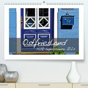 Ostfriesland HDR-Impressionen 2021 (Premium, hochwertiger DIN A2 Wandkalender 2021, Kunstdruck in Hochglanz) von Hebgen,  Peter