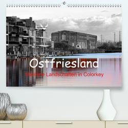 Ostfriesland Maritime Landschaften in Colorkey (Premium, hochwertiger DIN A2 Wandkalender 2021, Kunstdruck in Hochglanz) von Poetsch,  Rolf