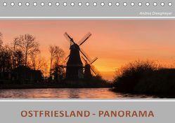 Ostfriesland Panorama (Tischkalender 2019 DIN A5 quer) von Dreegmeyer,  Andrea