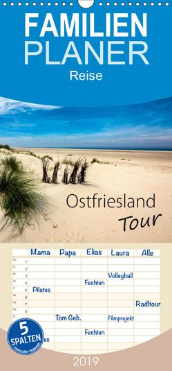 Ostfriesland – Tour – Familienplaner hoch (Wandkalender 2019 , 21 cm x 45 cm, hoch) von Dreegmeyer,  H.