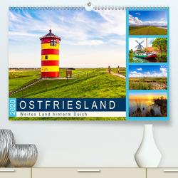 OSTFRIESLAND Weites Land hinterm Deich (Premium, hochwertiger DIN A2 Wandkalender 2020, Kunstdruck in Hochglanz) von Dreegmeyer,  Andrea