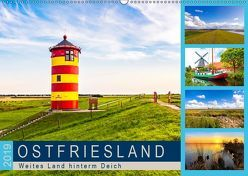 OSTFRIESLAND Weites Land hinterm Deich (Wandkalender 2019 DIN A2 quer) von Dreegmeyer,  Andrea