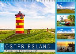 OSTFRIESLAND Weites Land hinterm Deich (Wandkalender 2019 DIN A3 quer) von Dreegmeyer,  Andrea
