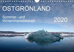 Ostgrönland – Sommer- und Winterimpressionen (Wandkalender 2020 DIN A4 quer) von Geschke,  Sabine