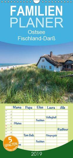 Ostsee, Fischland-Darß – Familienplaner hoch (Wandkalender 2019 , 21 cm x 45 cm, hoch) von Hoffmann,  Klaus