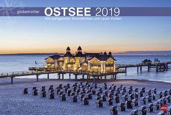 Ostsee Globetrotter – Von behaglichen Strandkörben und rauen Küsten – Kalender 2019 von Heye