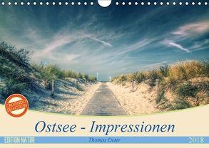 Ostsee – Impressionen (Wandkalender 2018 DIN A4 quer) von Deter,  Thomas