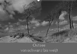 Ostsee – von schwarz bis weiß (Wandkalender 2020 DIN A2 quer) von Becker,  Uwe