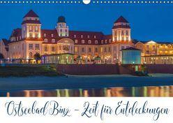Ostseebad Binz – Zeit für Erholung (Wandkalender 2019 DIN A3 quer) von Kirsch,  Gunter