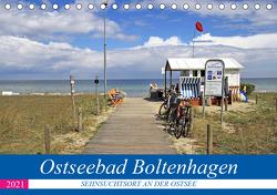 Ostseebad Boltenhagen – Sehnsuchtsort an der Ostsee (Tischkalender 2021 DIN A5 quer) von Felix,  Holger