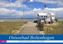 Ostseebad Boltenhagen – Sehnsuchtsort an der Ostsee (Wandkalender 2021 DIN A3 quer) von Felix,  Holger