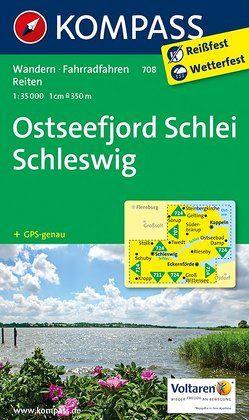 Ostseefjord Schlei, Schleswig von KOMPASS-Karten GmbH